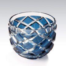 藍色切子碗