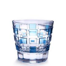 モザイク オールドファッショングラス ブルー
